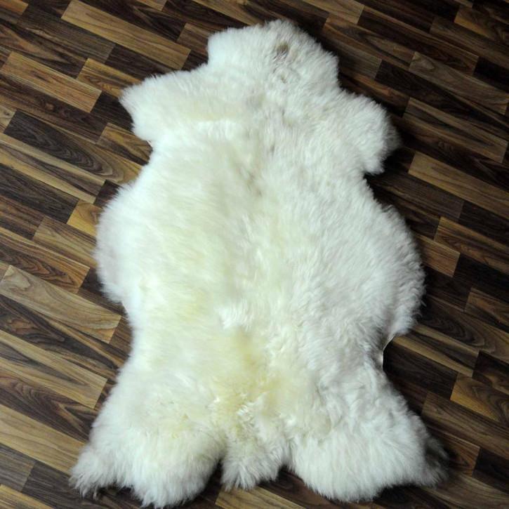 Ziegenfell Ziege Fell 105x65 Kamindeko goatskin gefärbt #5555