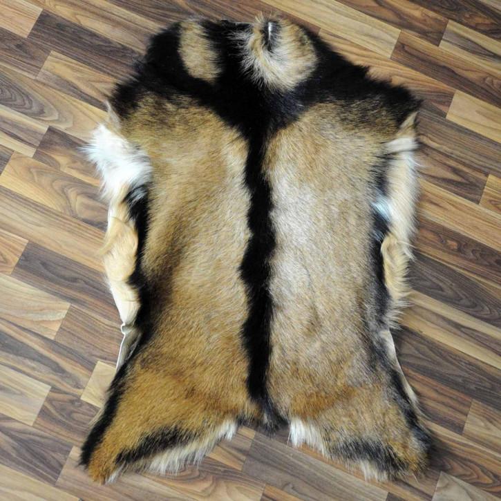 Ziegenfell Ziege Fell 125x85 Kamindeko goatskin gefärbt #5560