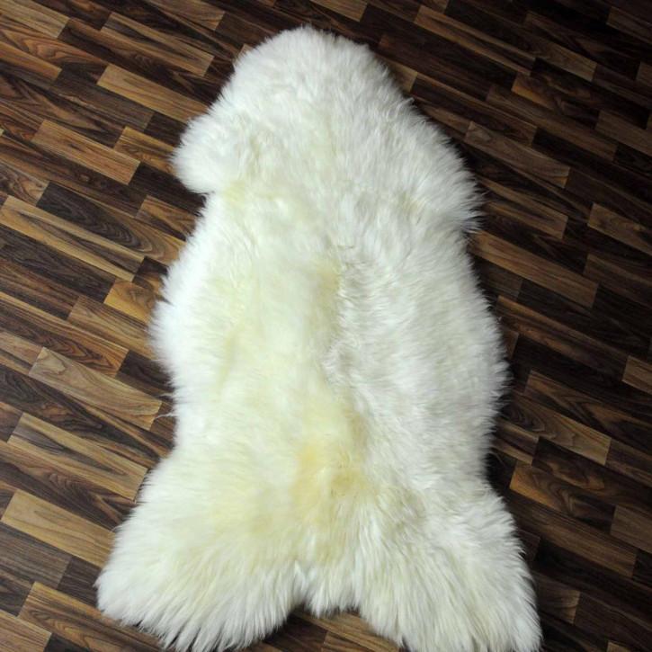 XL Schaffell Fell creme weiß 115x75 Stuhl Couch Auflage #5721