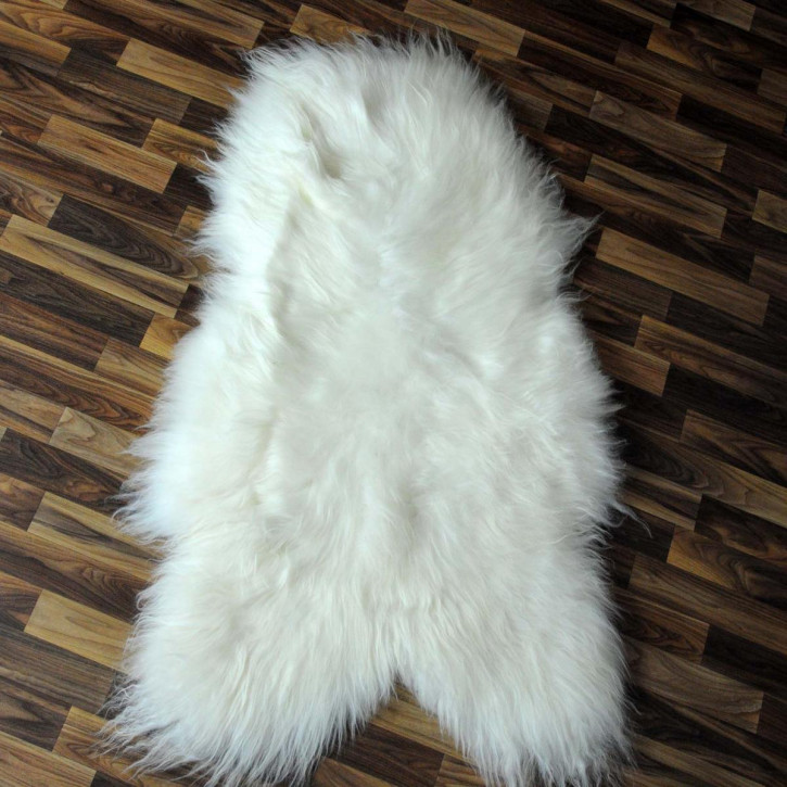 XXL ÖKO Island Schaffell creme weiß 125x75 Fell Auflage #5850