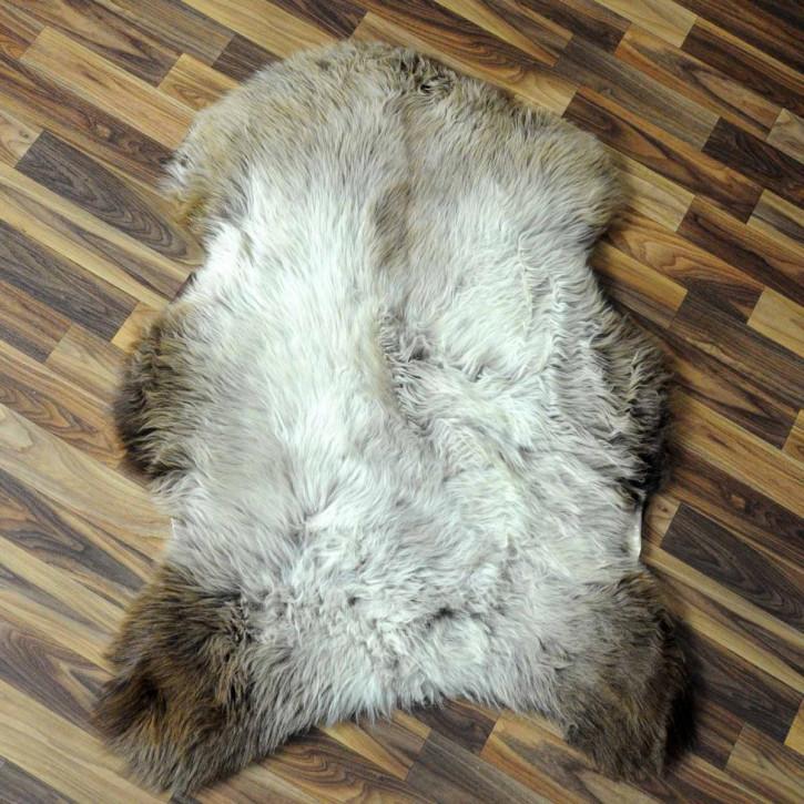 ÖKO Ziegenfell Ziege Fell 105x80 Kamindeko goatskin #5930