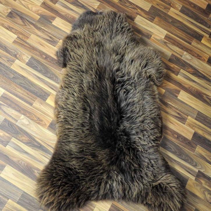 ÖKO Ziegenfell Ziege Fell 105x80 Kamindeko goatskin #5941