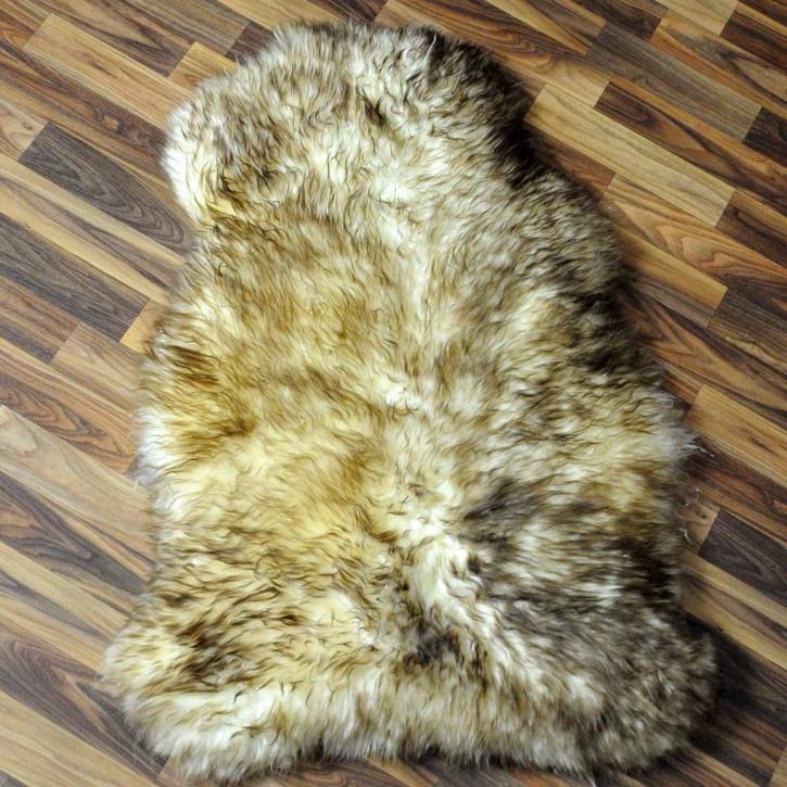 ÖKO Ziegenfell Ziege Fell 115x85 Kamindeko goatskin #6022
