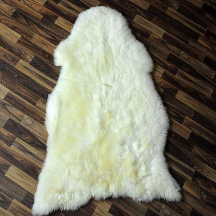 ÖKO Ziegenfell Ziege Fell 120x80 Kamindeko goatskin #6049