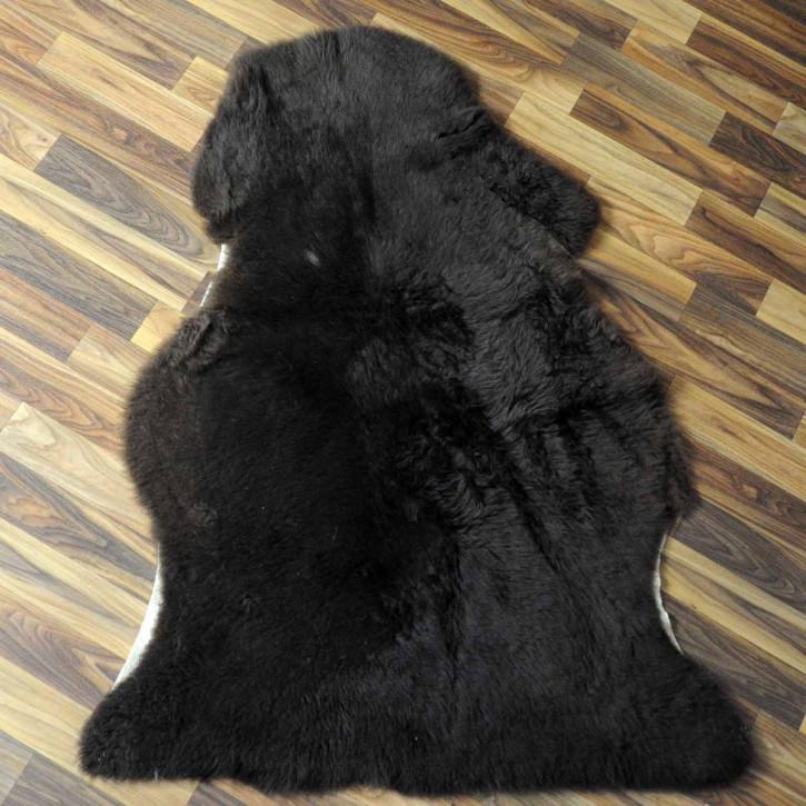 Ziegenfell Ziege Fell 105x65 goatskin gefärbt basteln #6226