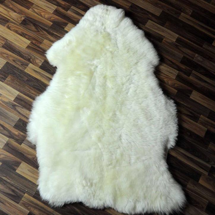 XXL ÖKO Schaffell Fell creme weiß 125x75 sheepskin #6310