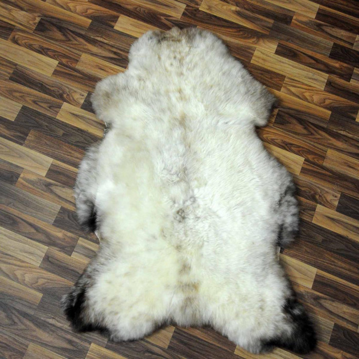 XL ÖKO Schaffell Fell creme weiß 115x80 sheepskin #6324