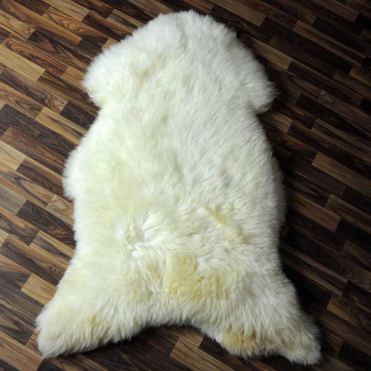 XXL ÖKO Schaffell Fell creme weiß 120x80 sheepskin #6331