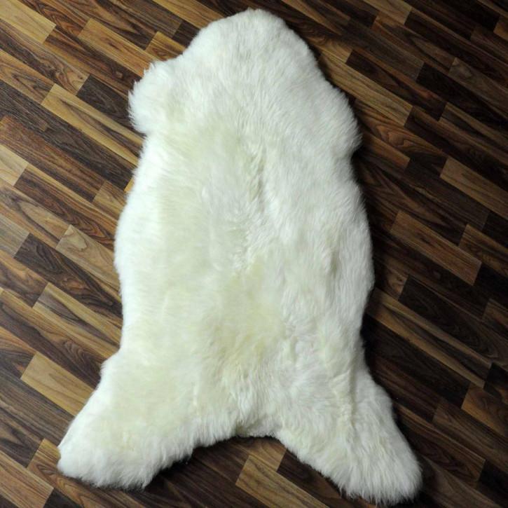 XL ÖKO Schaffell Fell creme weiß 115x80 sheepskin #6333