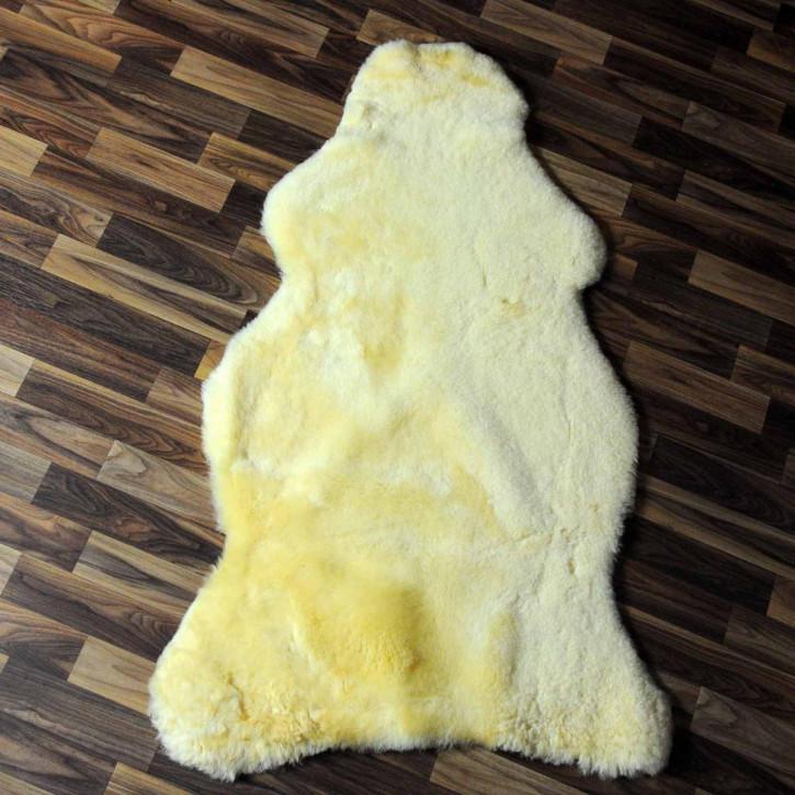 XL ÖKO Schaffell Fell creme weiß 110x80 sheepskin #6343