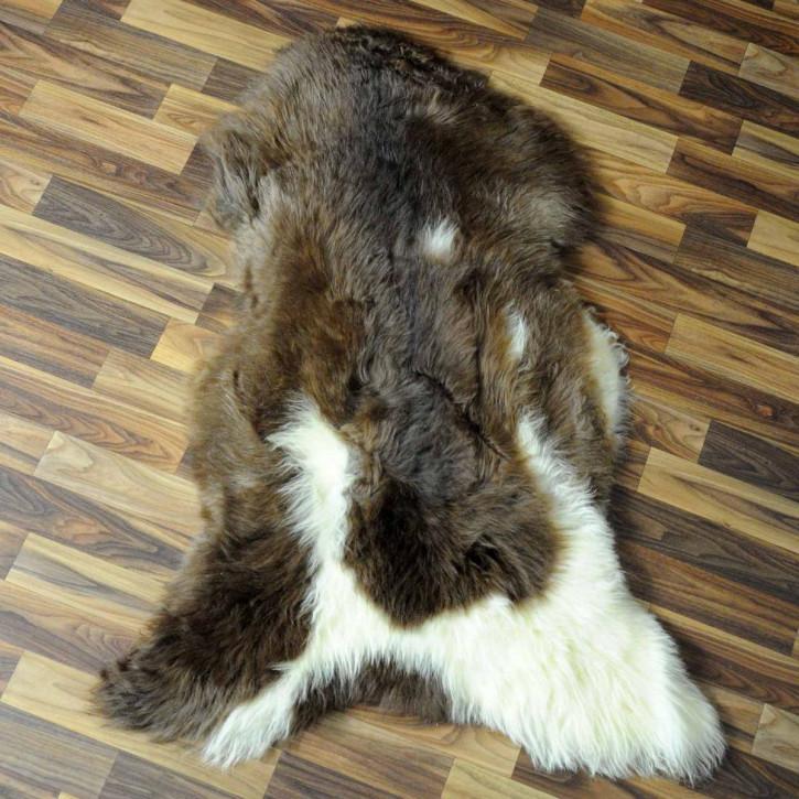 Island Schaffell Lammfell grau 100x70 Geschenk sheepskin #6956