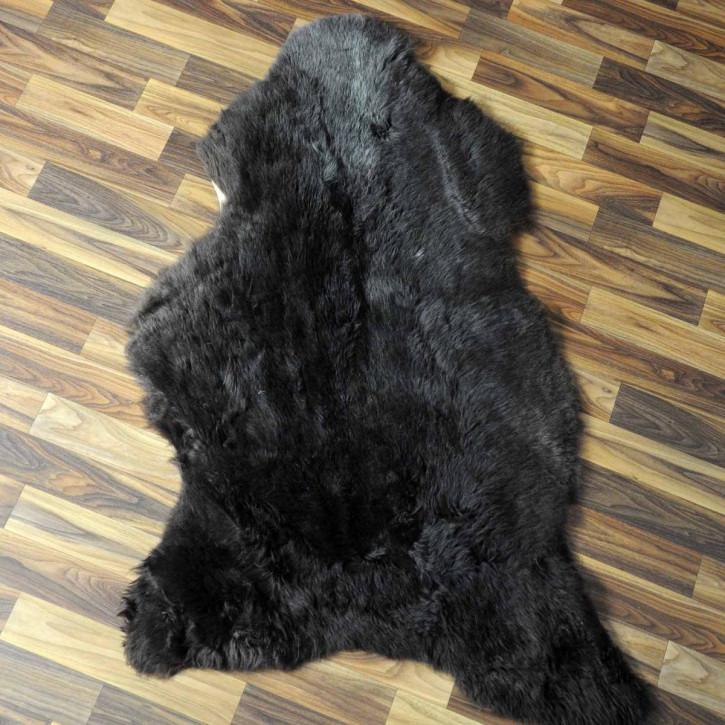 Island Schaffell Lammfell grau 105x70 Geschenk sheepskin #6967