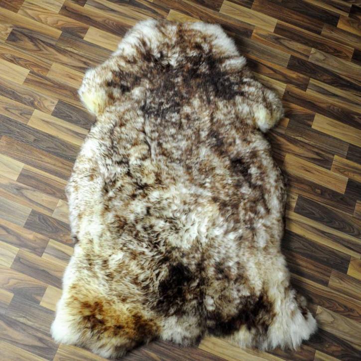 Island Schaffell Lammfell grau 100x65 Geschenk sheepskin #6970