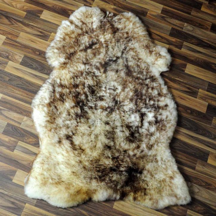 Island Schaffell Lammfell grau 100x65 Geschenk sheepskin #6972