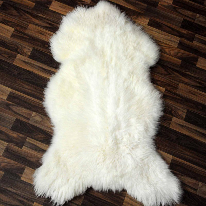 Island Schaffell Lammfell grau 105x60 Geschenk sheepskin #7000