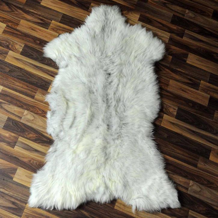 XL ÖKO Schaffell Fell braun 115x70 Braunbär Bär #7014