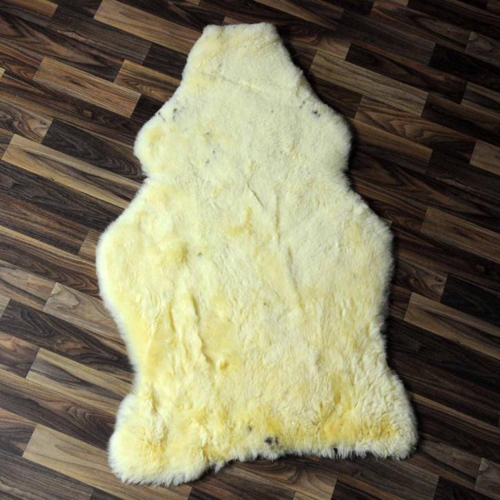 XL ÖKO Island Schaffell schwarzbraun 115x85 Perchten #7044