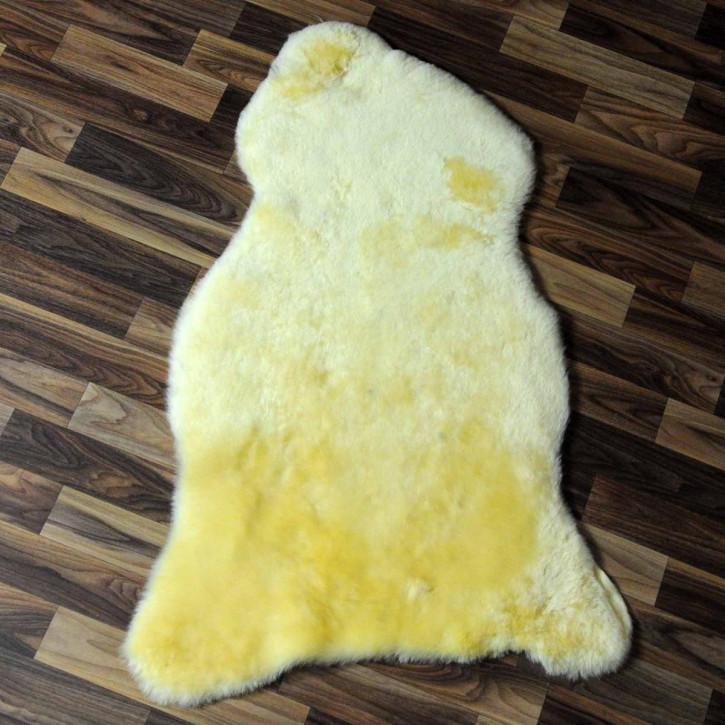 XXL ÖKO Island Schaffell grau beige 125x75 #7049