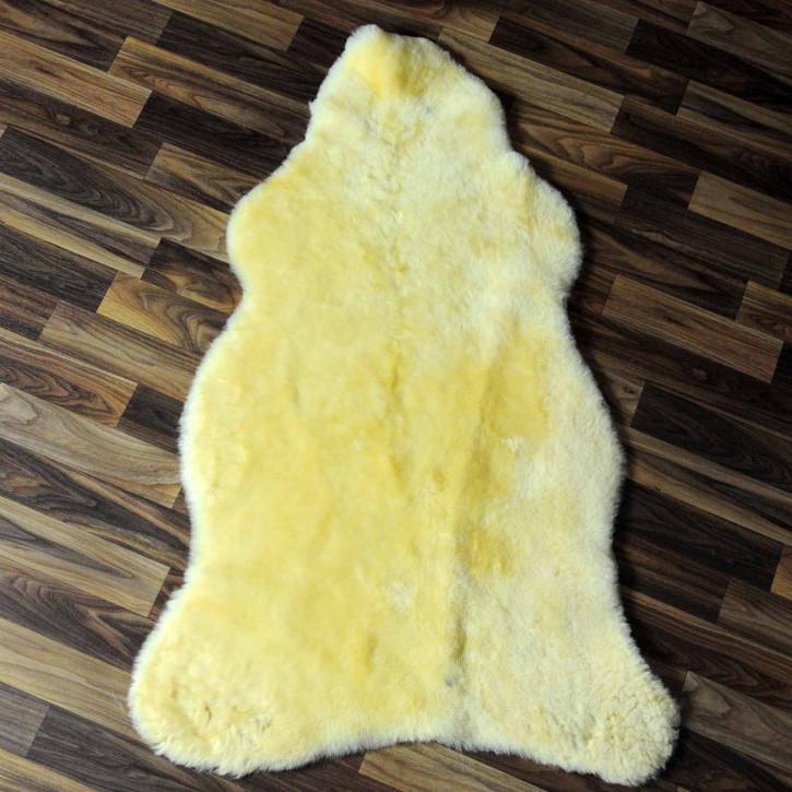 ÖKO Island Schaffell creme weiß 105x70 Fell Auflage #7554