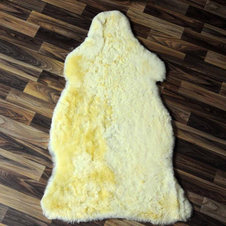 ÖKO Island Schaffell creme weiß 100x65 Fell Auflage #7564