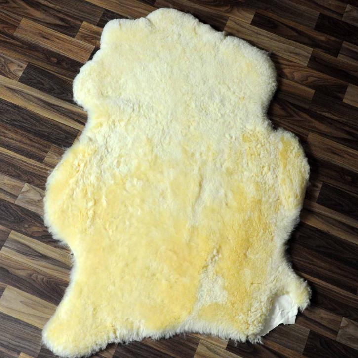 ÖKO Island Schaffell creme weiß 100x70 Fell Auflage #7565