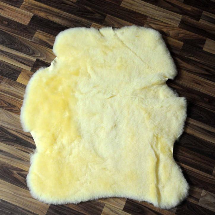 ÖKO Island Schaffell creme weiß 100x65 Fell Auflage #7566