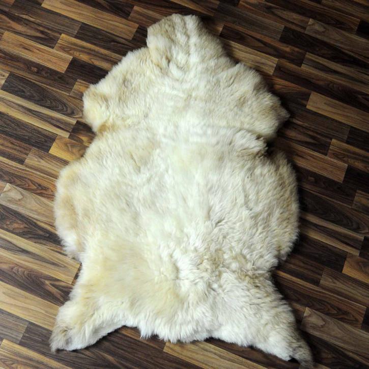 ÖKO Island Schaffell creme weiß 100x75 Fell Auflage #7577