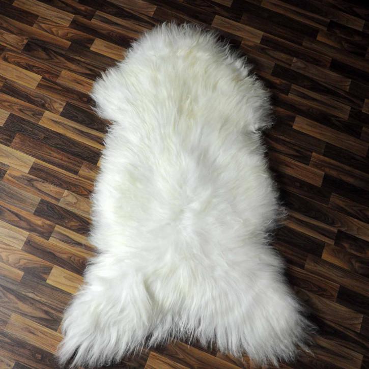 XXL ÖKO Island Schaffell natur grau schwarzbraun 120x80 #7665