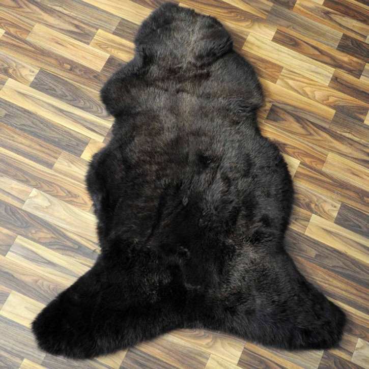 XL ÖKO Island Schaffell schwarz 115x80 #7738