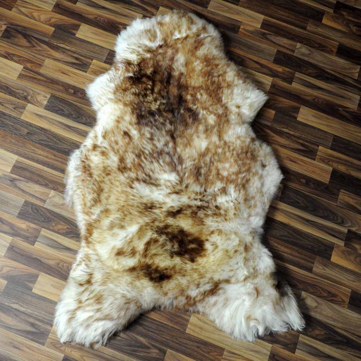 ÖKO Schaffell Fell creme weiß  105x75 geschoren Eisbär #7808