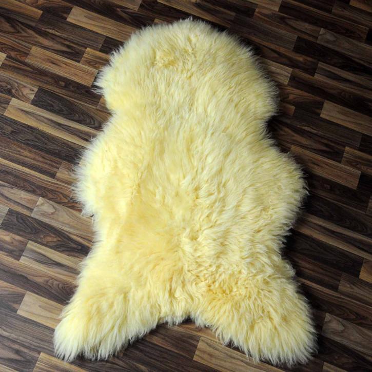 ÖKO Schaffell Fell creme weiß 105x75 geschoren Eisbär #7818