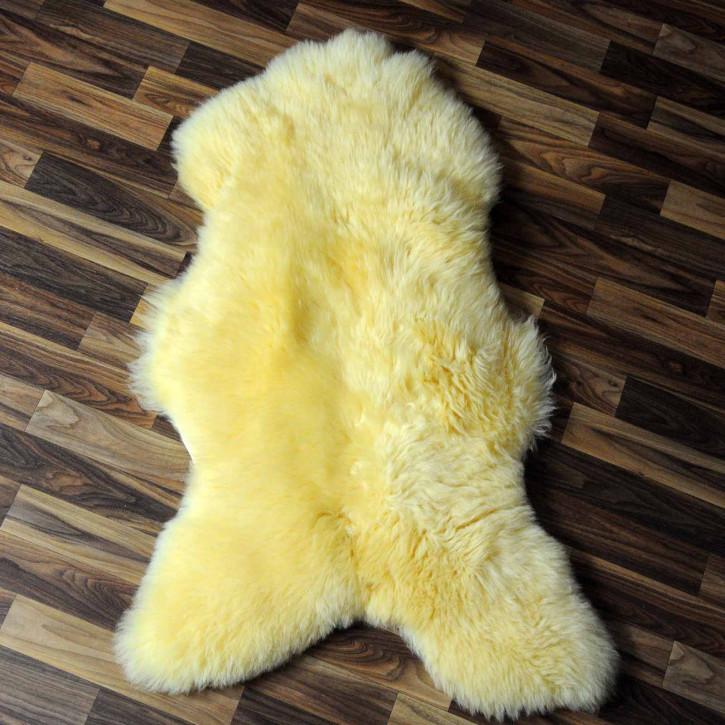 ÖKO Schaffell Fell creme weiß 105x80 geschoren Eisbär #7819