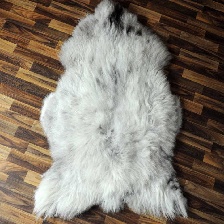 XXXL ÖKO Schaffell Fell creme weiß 140x80 sheepskin #8050