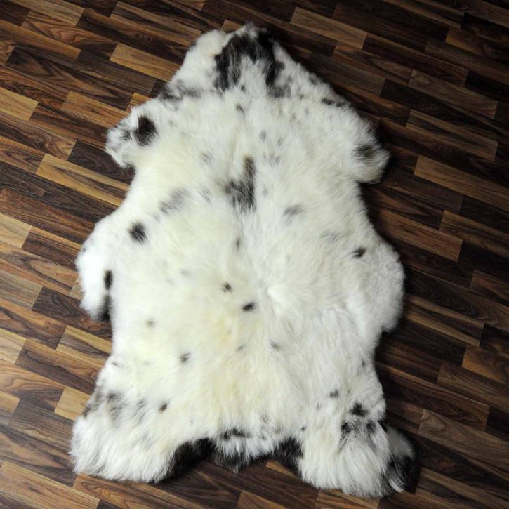 XXXL ÖKO Schaffell Fell creme weiß 135x75 sheepskin #8056