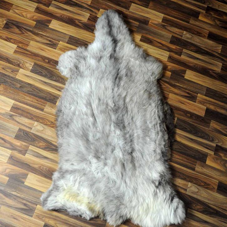 XXXL ÖKO Schaffell Fell creme weiß 130x80 sheepskin #8058