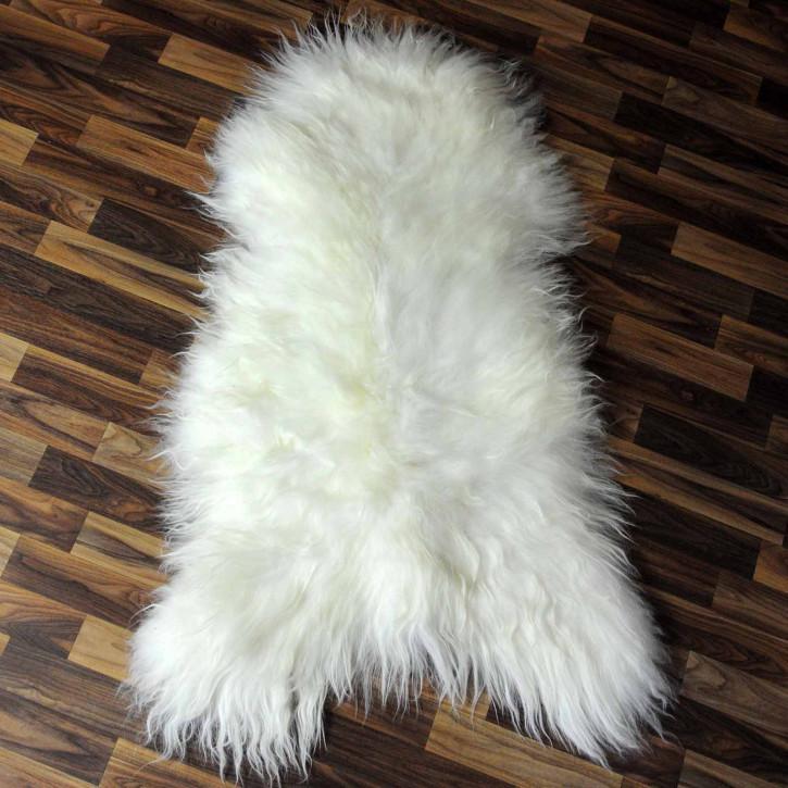 XXL ÖKO Schaffell Fell creme weiß 120x80 sheepskin #8102