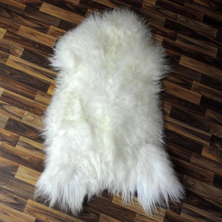 XXXL ÖKO Schaffell Fell creme weiß 130x85 sheepskin #8105