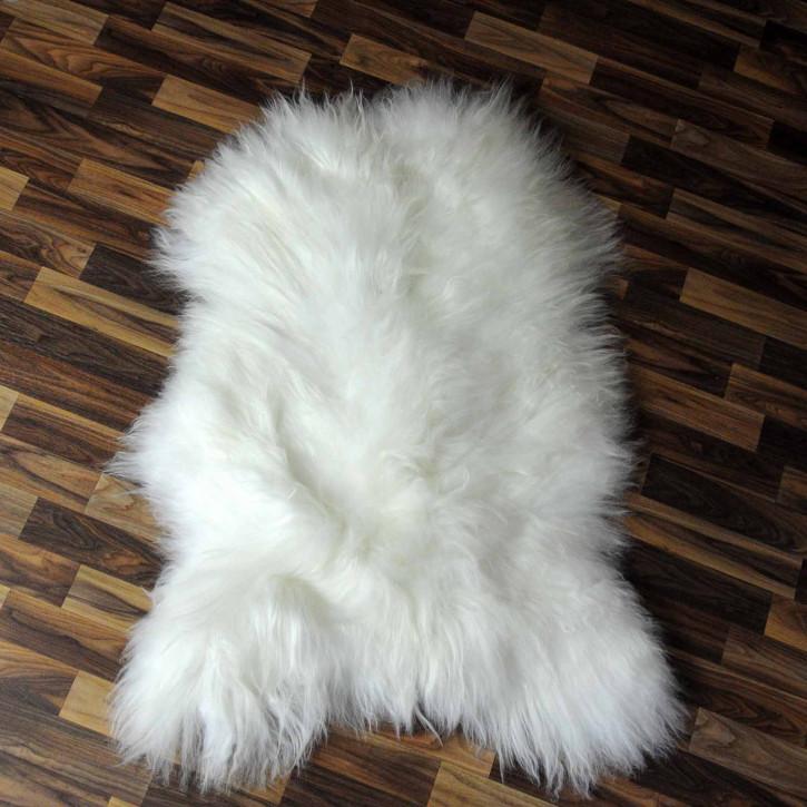 XXXL ÖKO Schaffell Fell creme weiß 130x75 sheepskin #8108