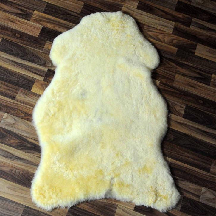 XXXL ÖKO Schaffell Fell creme weiß 130x75 sheepskin #8111
