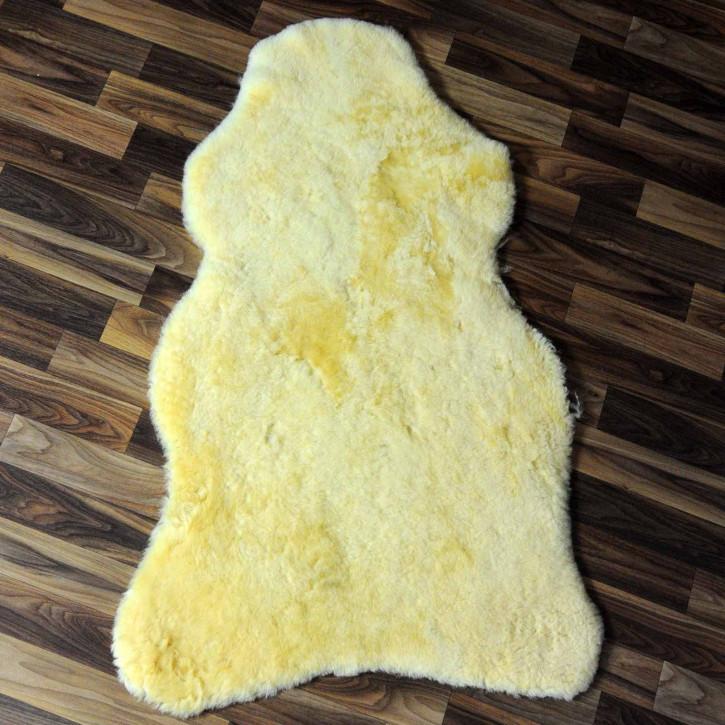 XXL ÖKO Schaffell Fell creme weiß 120x70 sheepskin #8117