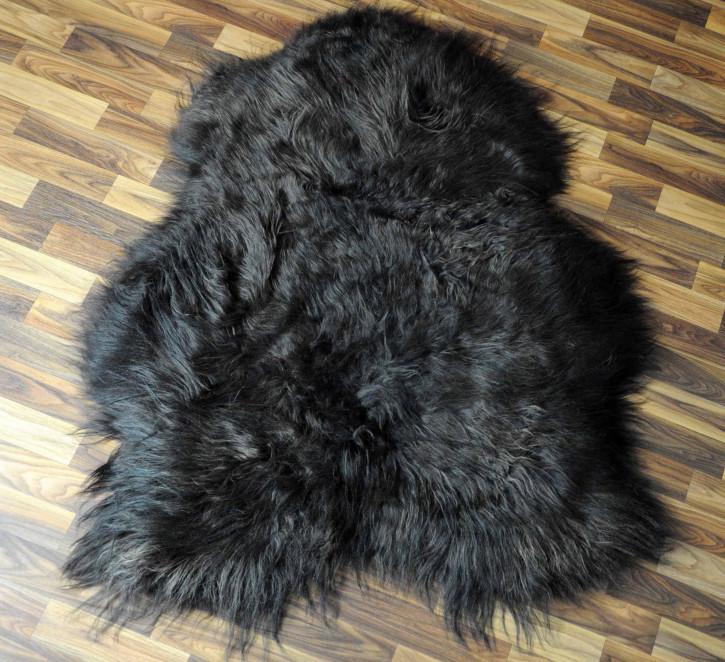 XXL ÖKO Schaffell Fell beige 125x75 sheepskin #8185