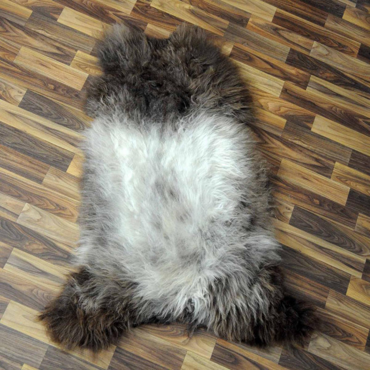 XXXL ÖKO Schaffell Fell creme weiß 135x80 sheepskin #8186