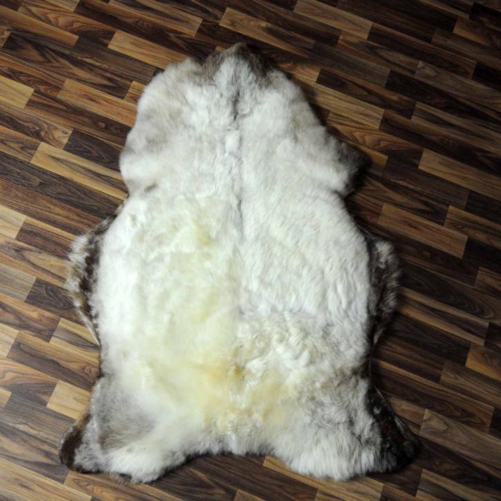 XXXL ÖKO Schaffell Fell creme weiß 130x85 sheepskin #8190