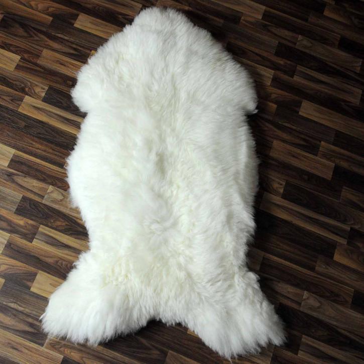 XXL ÖKO Schaffell Fell creme weiß 120x80 sheepskin #8207