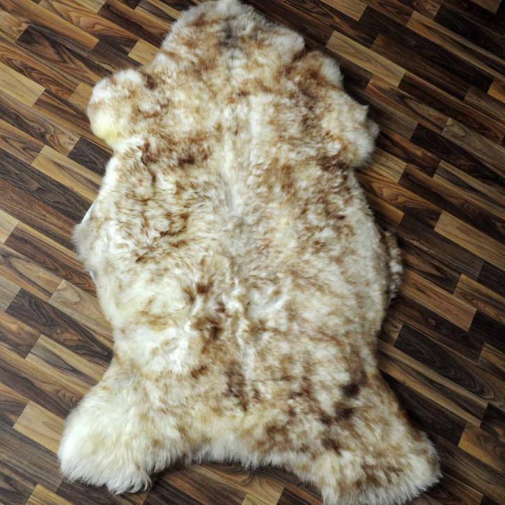ÖKO Tibetlamm Schaffell Lammfell Fell 75x50 Tibet #9575