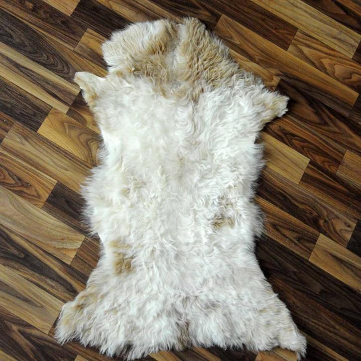 ÖKO Tibetlamm Schaffell Lammfell Fell 80x55 Tibet #9738