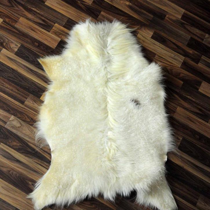ÖKO Tibetlamm Schaffell Lammfell Fell 70x55 Tibet #9743