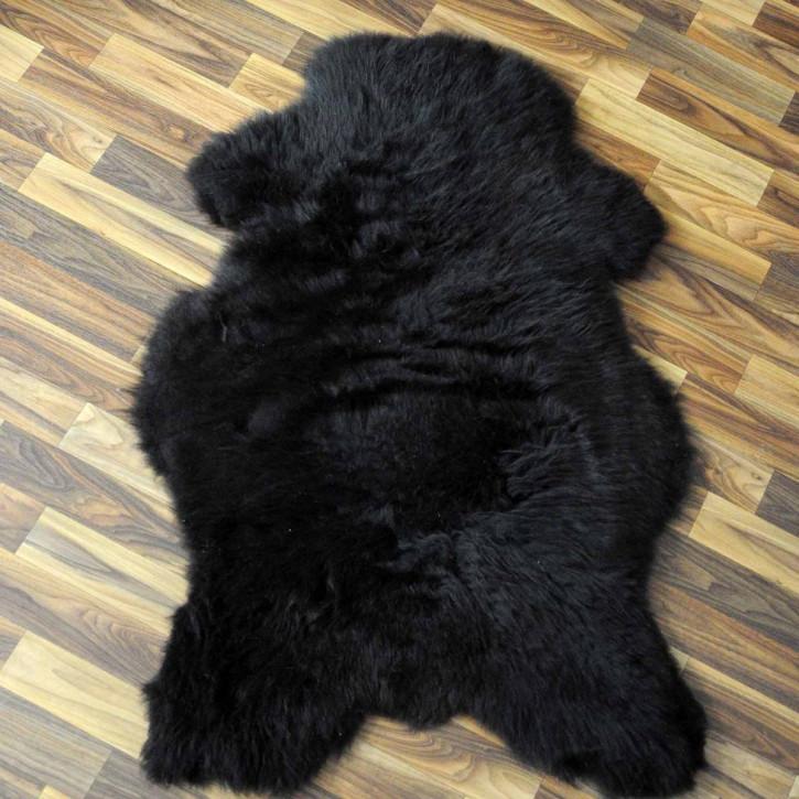 ÖKO Tibetlamm Schaffell Lammfell Fell 80x50 Tibet #9786