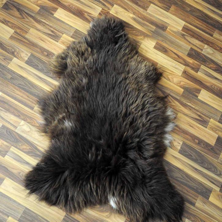 ÖKO Ziegenfell Ziege Fell 85x60 Kamindeko goatskin basteln #9892