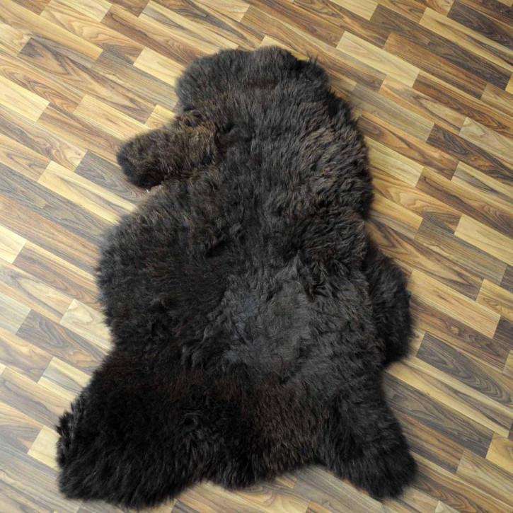 ÖKO Tibetlamm Schaffell Lammfell Fell 75x50 Tibet #9922